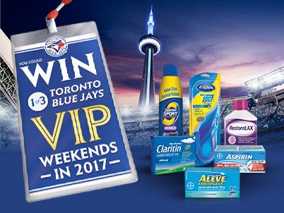 Bayer – Toronto Blue Jays Weekend Getaway