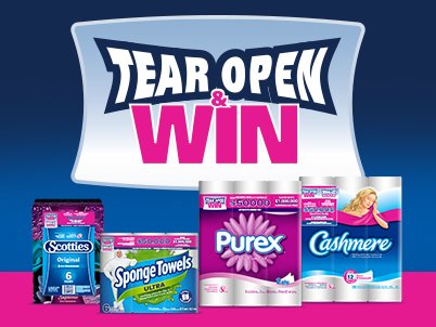 Kruger Products – Tear Open & Win